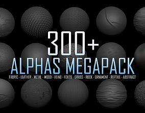 3D ZBRush Alphas Megapack