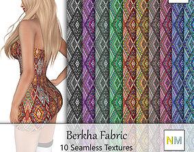 Berkha Fabrics Seamless Textures Set 3D model