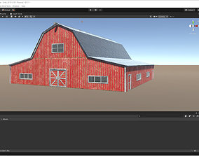 Farming Barn for Unity 3D model