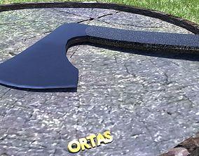 ORTAS AXE NO 12 TACTICAL WEAPON 3D PRINTABLE games-toys