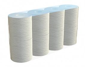 3D Toilet paper 8 pack large