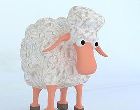 Cartoon Sheep 3D model