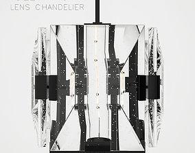 Holly Hunt Lens chandelier 3D