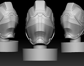 Sci-fi helmet 3D printable model body