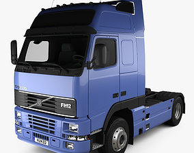 3D Volvo FH12 Globetrotter XL Tractor Truck 2-axle 1995