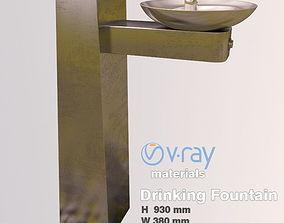 Fountain-Drinking Fountain 3D