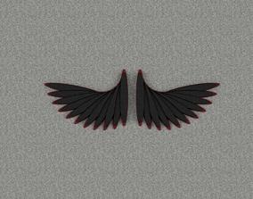 3D print model satan Wings