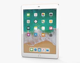 Apple iPad 9-7-inch 2018 Gold 3D model