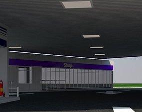 Original Gas station 3D