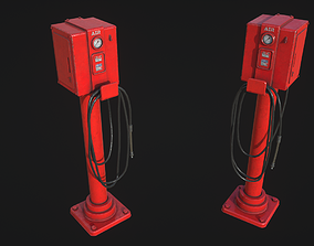 3D asset Air Tower Meter
