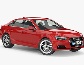 3D model 2015 2016 Audi A4 Sedan