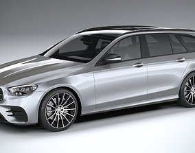 Mercedes E-Class Estate AMG line 2021 3D model