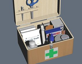 3D 1ST AID BOX Set