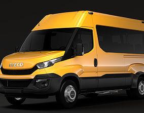 Iveco Daily Minibus L2H2 2014-2016 3D model