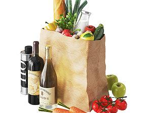 Vegetables bag 3D