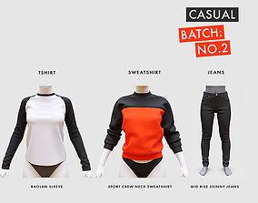Casual Clothing Batch 2 3D model
