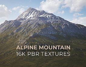 3D model PBR Atlas - Alpine Mountain