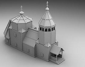Slavic church 3D print model