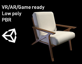 3D asset Article Otio lounge chair Lowpoly model