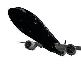 Boeing 777-300ER Air New Zealand 3D model