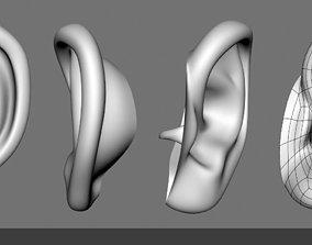 Ear 3D Model realistic