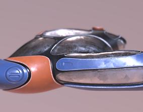 3D asset VR / AR ready spaceShip