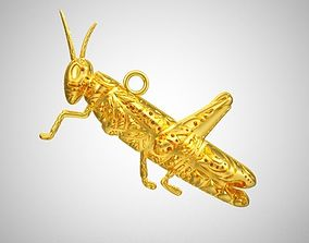 3D printable model Grasshopper Necklace