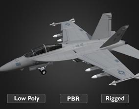 F18 Super Hornet 3D model
