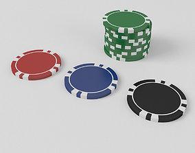 Custom Poker Chips 3D wheel