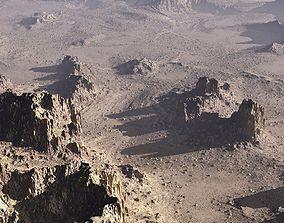 Mars planet in Vue 3D