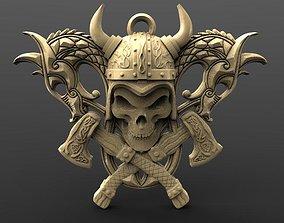 Viking skull 6 3D printable model