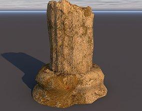 Broken Acient Column 2 3D asset