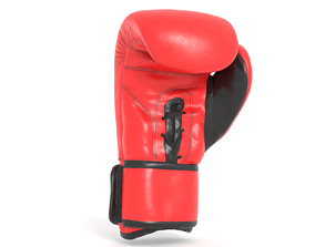 3D model Boxing Glove - high poly and low poly