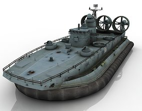 large hovercraft 3D model