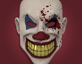 3D model Theater Mask - Demon Clown