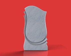 memorial tombstone gravestone 3D model