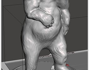 Bear standing 3D printable model