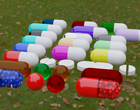 3D Pills Pack