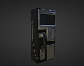 Pay Phone 3D asset