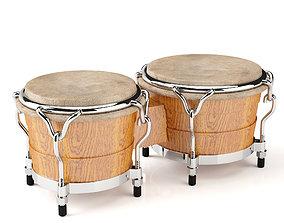 3D model Bongo drum