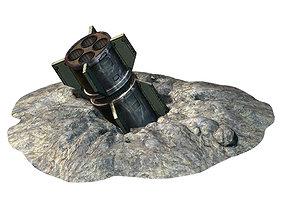3D model Missile-pit 01