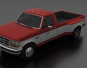 3D model F-350 Pickup 1992-1997 DRW Regular Cab