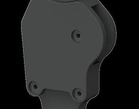 3D model CRJ-200 Right Thrust lever
