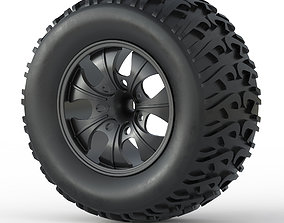 Monster Truck Wheel Toy 3D print model