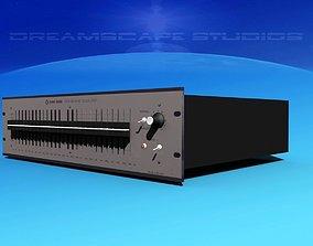 Klark Teknik DN27 Graphic Equalizer 3D model