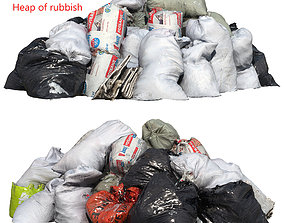 3D dumping Ultra realistic Heap of rubbish