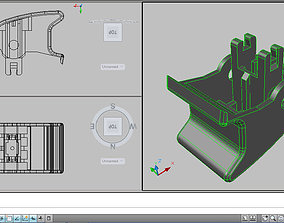 3D printable model control of electric windows mazda mx5