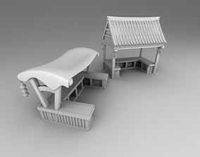 Part 3- Chinese traditional house 2-10 3D print model