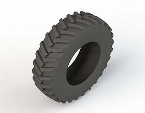 Truck Tire 3D print model