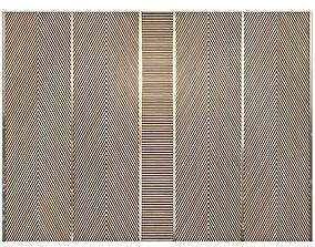 Decor wood panel 42 3D model